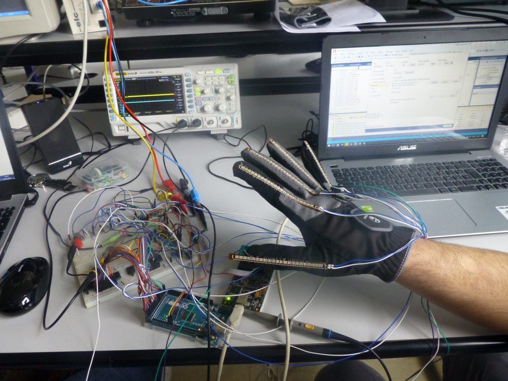 Gant virtuel musique projet